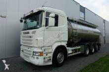 Scania R480 8X4 STEERING AXLE MILK TANK truck