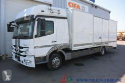 Mercedes Atego 822 geschlossener Autotransporter 1. Hand truck