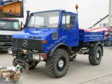 Mercedes Unimog U 1250 2-Achs Allradkipper truck