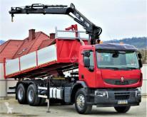 camion Renault Premium 370 Kipper 6,30m+Kran 6x2Topzustand!