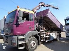 camión volquete para chatarra MAN