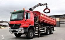 camion Mercedes Actros 3341 / 6x6 / HDS / Euro 5 / UDT / Burta Hydrauliczna /