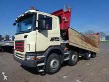 camion ribaltabile trilaterale Scania