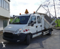 Iveco three-way side tipper truck