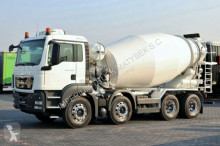 camião MAN TGS 32.400 /CEMENT MIXER 9M3 / LIEBHERR /MANUAL