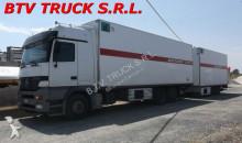 camión remolque Mercedes 18.43 MOTRICE ISOTERMICA 3 ASSI CON BIGA ZORZI