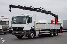 Hiab MERCEDES-BENZ - ACTROS / 2536 / 6 X 4 / SKRZYNIOWY + HDS / truck