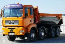 camion MAN TGA 35.390 Kipper *8x4* Topzustand!!