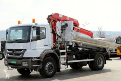 Mercedes AXOR 1828 / 4X2 / 3 SIDED TIPPER+CRANE HMF 1110 truck