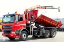 DAF CF 85.380/6X4/3 SIDED TIPPER/CRANE PALFINGER truck