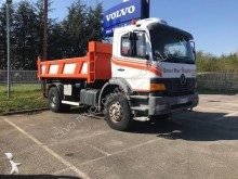 Mercedes two-way side tipper truck