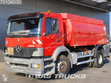 Mercedes chemical tanker truck