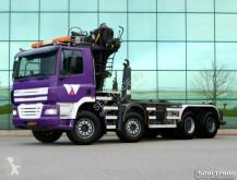 camion DAF FAD CF85.430 8X4 BLADVERING HANDBAK HAAKARM KRAA
