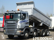 Scania R420 8x4 TIPPER / BIG AXLES / STEEL SUSPENSION truck