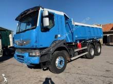 camión volquete trilateral Renault