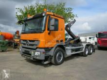 camion Mercedes Actros 2641 6x4 Abrollkipper Schub/Knickarm