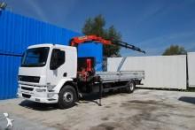 vrachtwagen platte bak boorden DAF