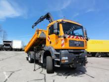 camion MAN TGA TGA 18.320 4x4 BL_Kran HIAB 077_Meiller 3-Seiten