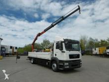 camion MAN TGM 18.340 TGM Kran 9,8mtr. Boden für Glas Reff Funk