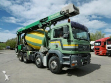 camion MAN 32.400 8x4 9m³ Band TD16,5 Euro 4 D-Lkw