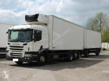 camion Scania P450 Kühlkoffer mit Anhänger*Carrier SUPRA 1050*