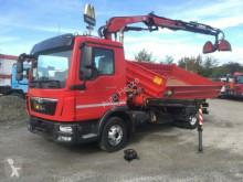 ciężarówka MAN TG-L 12.220 K 2-Achs Kipper Kran ROAD SHOW EDITI