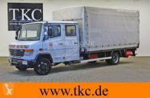 camião Mercedes Vario 816 D/48 Maxi Doka Pritsche Plane LBW AHK