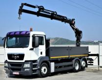 camion MAN TGS 26.360 Pritsche 5,90 m + Kran *6x2!