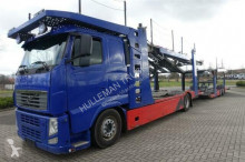 Volvo car carrier trailer truck