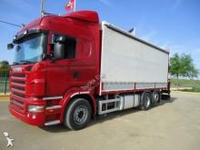 camion cu prelata si obloane Scania