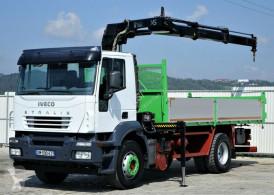 camion Iveco Stralis 310 Kipper 5,30m + Kran*4x2*Topzustand