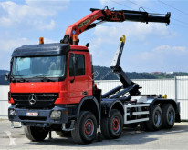 camion Mercedes Actros 4141 Abrollkipper 5,20 + Kran 8x6