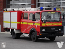 camion Iveco 75-14 Fire truck, Low Kilometer, Waterpump, Crew cab