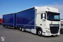 camion DAF - 106 / 460 / SSC / E 6 / ZESTAW PRZEJAZDOWY 120 M3 + remorque