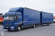 camion nc MERCEDES-BENZ - ATEGO / 1227 / EURO 6 / ZESTAW PRZEJAZDOWY 120 M3 + remorque