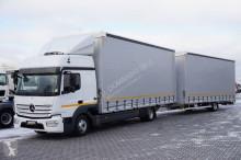 ciężarówka nc MERCEDES-BENZ - ATEGO / 823 / EURO 6 / ZESTAW 120 M3 + remorque