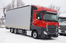ciężarówka nc MERCEDES-BENZ - ACTROS / 2545 / EURO 6 / FIRANKA / 20 EUROPALET