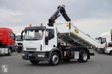 camión Iveco - EURO CARGO / 140E18 / E 5 / WYWROTKA + HDS