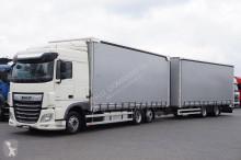 ciężarówka DAF - 106 / 480 / ACC / E 6 / ZESTAW PRZEJAZDOWY 120 M3 + remorque