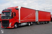 ciężarówka Volvo FH - / 500 / E 6 / ACC / ZESTAW PRZEJAZDOWY 120 M3 + remorque