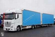 ciężarówka nc MERCEDES-BENZ - ACTROS / 2548 / E 6 / ZESTAW 120 M3 / GIGA SPACE + remorque