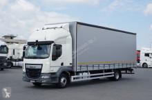ciężarówka DAF LF - / 250 / EURO 6 / FIRANKA / 22 PALETY / MANUAL