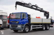 DAF CF / 85.410 / E 5 / SKRZYNIOWY + HDS / MANUAL truck