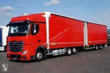 ciężarówka nc MERCEDES-BENZ - ACTROS / 2545 / E 6 / ZESTAW PRZEJAZDOWY 120 M3 + remorque
