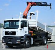 camião MAN TGA 18.310 Kipper 4,80 m + Kran * 4x2!