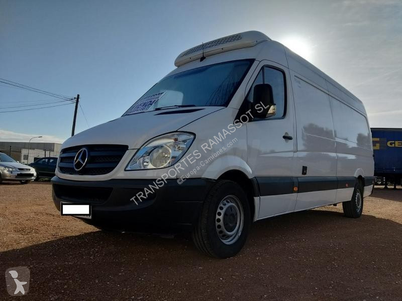 Used Mercedes Sprinter multi temperature refrigerated truck Thermoking  313DE43C 4x2 Diesel Euro 4 - n°3211616