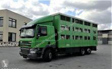 ciężarówka DAF CF 85.410 do przewozu zwierząt, bydła