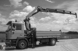 camion MAN 18.414 with Palfinger crane
