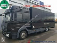 camion Mercedes 823 Mersch Geschlossener Autotransporter Euro 6
