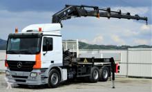 camión Mercedes Actros 2641 Pritsche 6,10m+ Kran*6x4*Topzustand